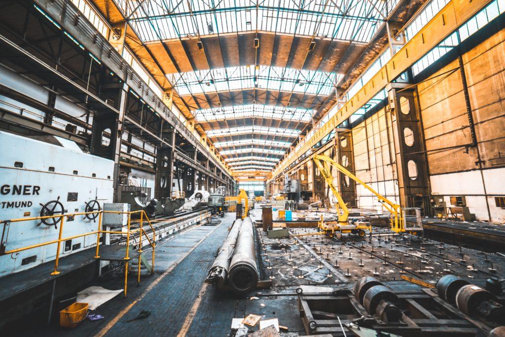 最適化された工場ライン